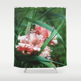 Lace roses Shower Curtain