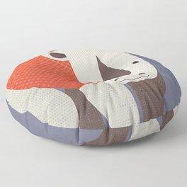 Whimsy Rhinoceros Floor Pillow