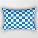 Gingham Brilliant Blue Checked Pattern by sharonmau