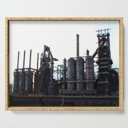 Bethlehem Steel Blast Furnaces 2 Serving Tray