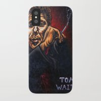 """tom waits iPhone & iPod Cases featuring """"Tom Waits"""" by PMS Artwork"""