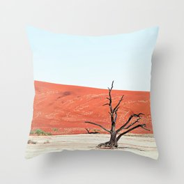 Deadvlei II Throw Pillow