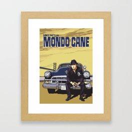 Mike Patton  / Mondo Cane / Faith No More / Mr Bungle Music Poster Framed Art Print