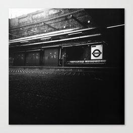 Whitechapel Station Canvas Print