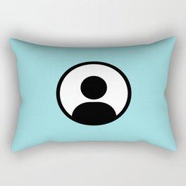 Anonymous Rectangular Pillow