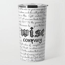 Wise Company Travel Mug