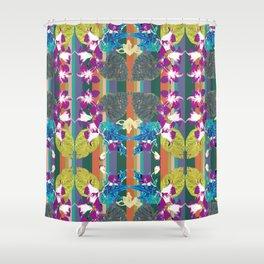 Exotical flora Shower Curtain