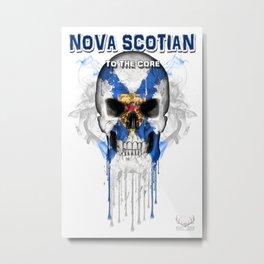 To The Core Collection: Nova Scotia Metal Print