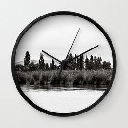 Balaton - reflection Wall Clock
