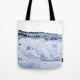 Kerid Crater In Winter, Iceland Tote Bag