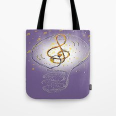 Music, what a great idea! Tote Bag