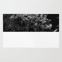 Houston map Rug