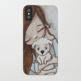 Love Changes Everything by Diane Duda iPhone Case