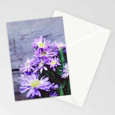 Pretty Blue Flowers Stationery Cards