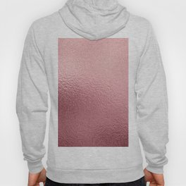 Pure Rose Gold Pink Hoody
