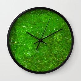 Green Delight Wall Clock