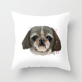 Shih-Tsu Throw Pillow