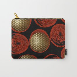 RED, BLACK & GOLD Carry-All Pouch