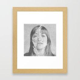 Hana II - High Res Framed Art Print