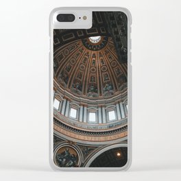St. Peter's Basilica, III Clear iPhone Case