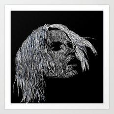 Girl #4 Art Print