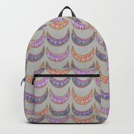 Tribal Half Moon Pattern Backpack
