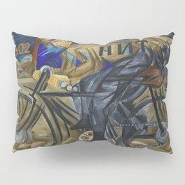 The Bicyclist by Natalia Goncharova Pillow Sham