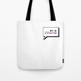 Aces are Valid Tote Bag