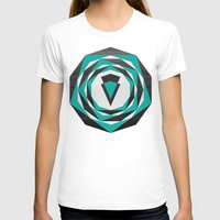 arya T-shirts featuring Decahedron Hexagon combined! by Hinal Arya