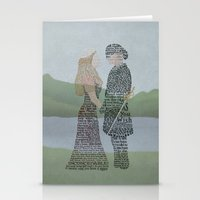 princess bride Stationery Cards featuring The Princess Bride Poster Art Print Typography by Skahfee Studios