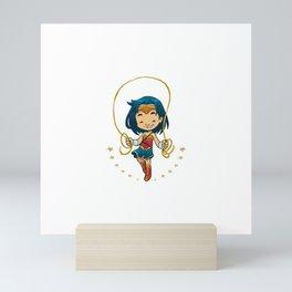 Skip! Mini Art Print
