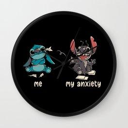Anxiety Wall Clock