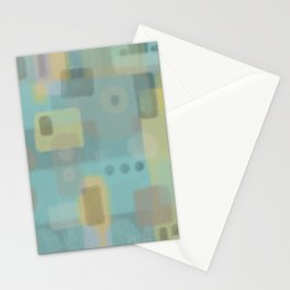Some of this and that - Abstract Digital Art Stationery Cards