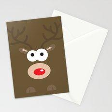 Minimal Reindeer  Stationery Cards