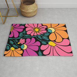 Wildflower Party Rug