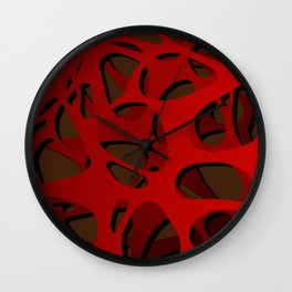 Bloodflow Wall Clock