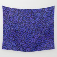 scales Wall Tapestries featuring Scales by Francesca Antonet