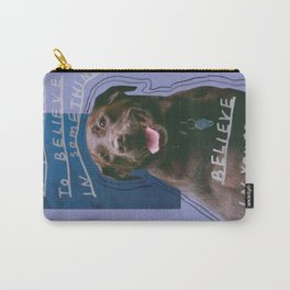 dog knows best Carry-All Pouch