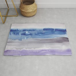 26    190907   Watercolor Abstract Painting Rug