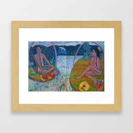 Adam & Eve Framed Art Print