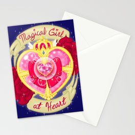 Magical Girl At Heart Stationery Cards