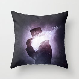 Interstellar +1 ~Saludo Throw Pillow