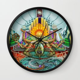 Genesis1, the theory of creation Wall Clock