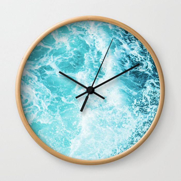 Perfect Sea Waves Wall Clock