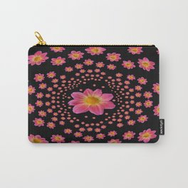 Pink Dahlia Explosion Carry-All Pouch