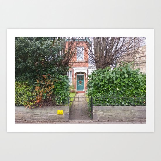 Into the house Art Print