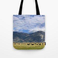 Field of Cows Tote Bag