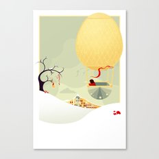 The Magic Balloon Canvas Print