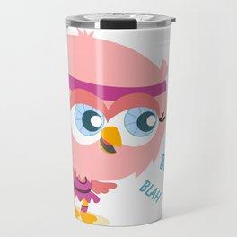 Talkative owl Travel Mug