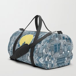 space city sun blue Duffle Bag